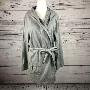 Xhilaration Target Heather Gray Belted Bath Robe